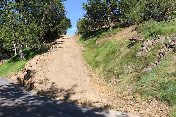 Dirt Road and Grass near Entry extension 027